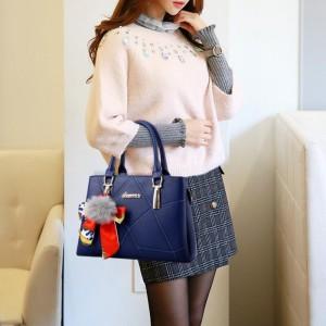 High Quality Casual Fashion Crossbody Shoulder Bag - Blue