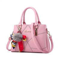 High Quality Casual Fashion Crossbody Shoulder Bag - Light Pink