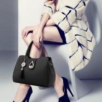 Classy Classical Fashion Beautiful Handbag - Black