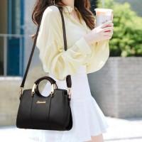 Fashion Style Casual Tote Handbag - Black