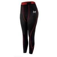Elastic Waist Narrow Bottom Casual Wear Trouser - Red