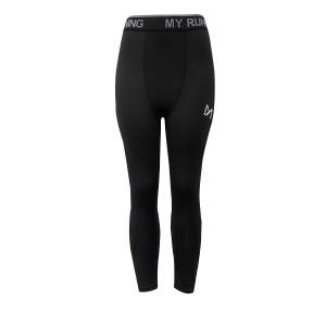 Narrow Casual Wear Elastic Waist Fitted Men's Trouser - Black