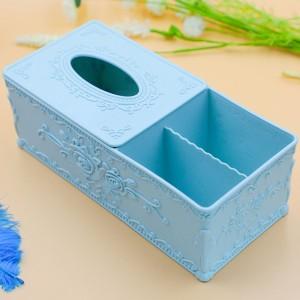 Tissue Box Cover Home Car Desk Organizer Remote Control Holder Makeup Cosmetic Storage Box