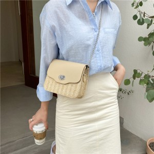 Girls Fashion Trending Small Fresh Simple Shoulder Bag - Khaki