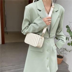 Girls New Design Canvas Mini Shoulder Bag - Beige