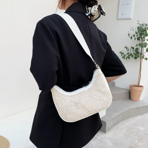 Minority Design Cross Body Trend Handbag - White