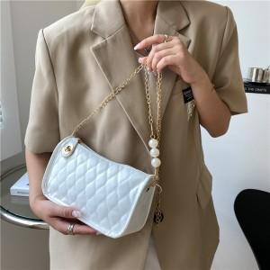 Fashion Simplicity Casual Retro Women Handbag - White