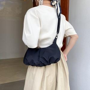 Fashionable Large Capacity Cross Border Women Bag - Black