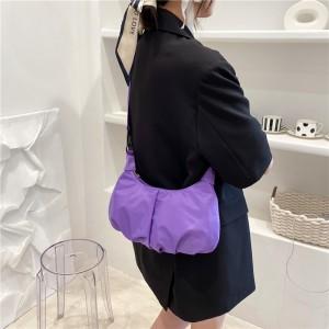 Fashionable Large Capacity Cross Border Women Bag - Purple