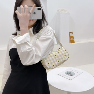 Fashion Makeup Cosmetic Women Handbag - Khaki