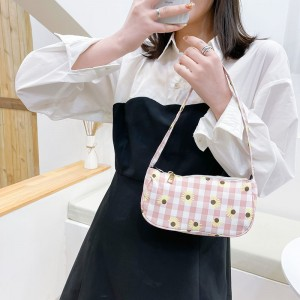 Fashion Makeup Cosmetic Women Handbag - Pink