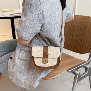 Girls Fashion Crossbody Shoulder Bag - Brown