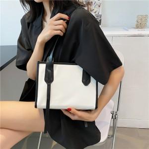 High Quality Vintage Business Casual Handbags - White Black