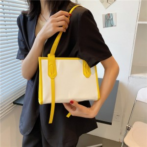 High Quality Vintage Business Casual Handbags - Yellow