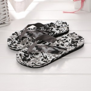 Thick Sole Unisex Solid Color Casual Fashion Slipper - Gray
