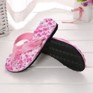 Thick Sole Solid Color Casual Fashion Women Slipper - Pink