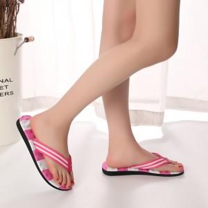 Flip Flops Thick Bottom Women Slope Slipper - Pink