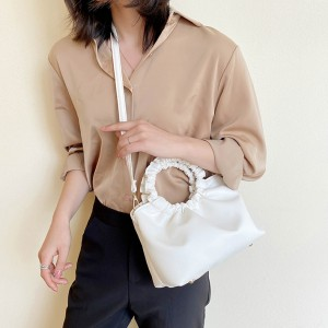 High Quality Comfortable Touching Feeling Shoulder Bag - White