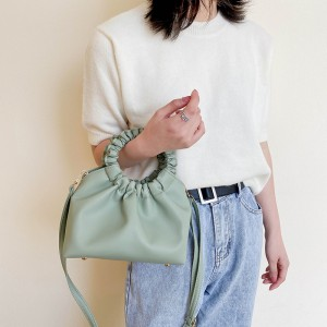 High Quality Comfortable Touching Feeling Shoulder Bag - Green