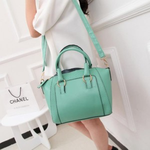Top Quality Big Capacity Waterproof Shoulder Bag - Sea Green