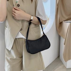 Macaron Candy Lightweight Exquisite Mini Handbag - Black