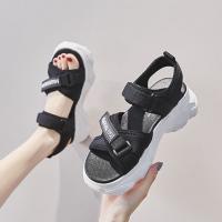 Velcro Thick Soft Bottom Casual Wear Feet Comfort Sandals