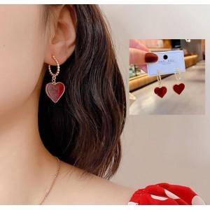 Retro Love Ear Rings For Women