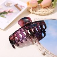 Hair Grooming Flexible Expanding Hair Catcher Clip - Purple