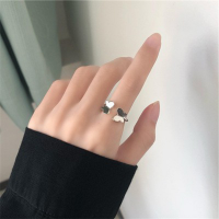 Hearts Carved Women Fashion Cute Romantic Rings
