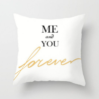 1 Piece Me and You Design Decorative Cushion Cover