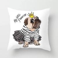 My Little Princess Design Cushion Cover