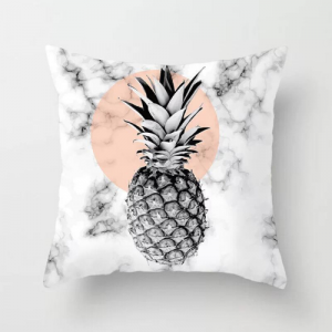 1 Piece Marble Pattern Decorative Cushion Cover