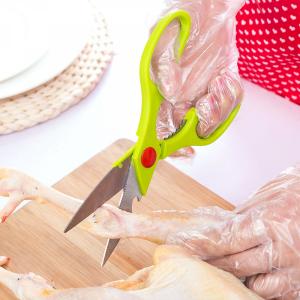 High Quality Fancy Kitchen Utencils Food Grade Scissors - Green