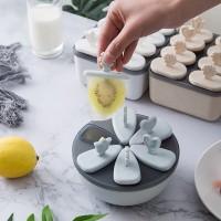 Six Sided Easy Ice Cream Maker Mold - Blue