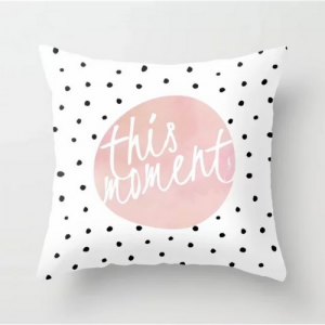 This Moment Polka Dots Design Cushion Cover