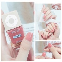 Solid Color Waterproof Oily Nails Polish A28 - Candy Pink