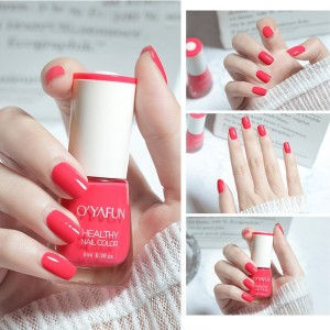Quick Drying Fragrance Water Based Nail Polish 21 - Candy Pink
