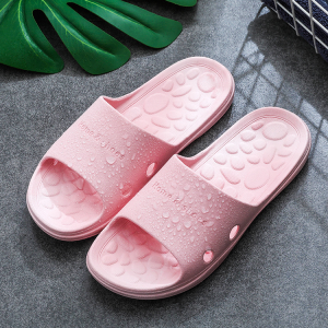 Fine Quality Plastic Casual Home Wear Slippers - Pink