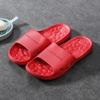 Fine Quality Plastic Casual Home Wear Slippers - Red