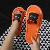 Fine Quality Plastic Casual Home Wear Slippers - Orange
