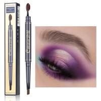 Double Head Waterproof Eyebrow Pencil 01 - Light Coffee