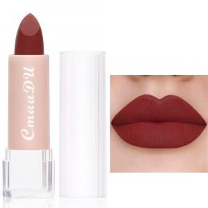 Moisturizing Waterproof Long Lasting Women Lipstick 02 - Dark Red