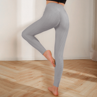 Mesh Narrow Bottom Gym Exercise Tight Fitted Trouser - Gray