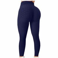 Mesh Narrow Bottom Gym Exercise Tight Fitted Trouser - Dark Blue