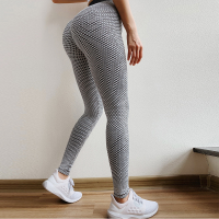 Narrow Bottom Gym Exercise Tight Fitted Trouser - Gray