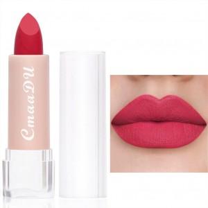Moisturizing Waterproof Long Lasting Women Lipstick 04 - Plum Red