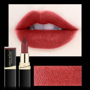 Long Lasting Waterproof Moisturizing Solid Color Matte Lipstick 18 - Orange Red
