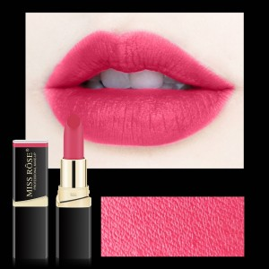 Long Lasting Waterproof Moisturizing Solid Color Matte Lipstick 21 - Barbie Pink