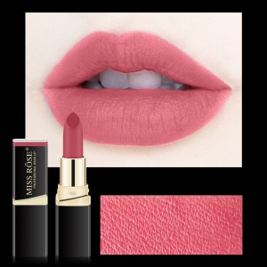 Long Lasting Waterproof Moisturizing Solid Color Matte Lipstick 22 - Candy Pink