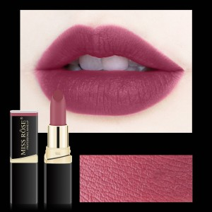 Long Lasting Waterproof Moisturizing Solid Color Matte Lipstick 24 - Cherry Purple